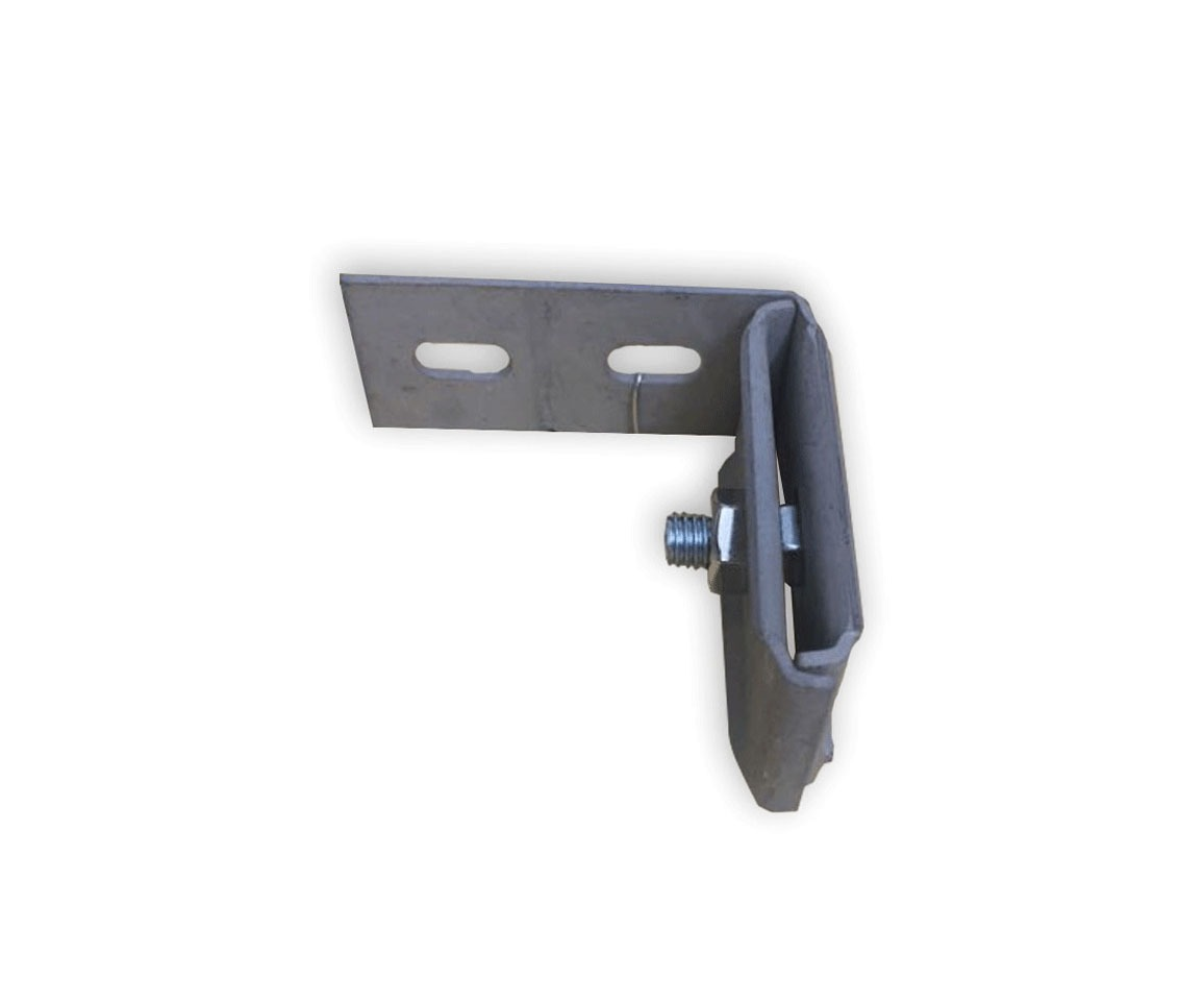 Large mounting anchor for timbering
